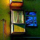 """City Life - """"Balconies, Windows, Shutters"""" p.3 by Denis Molodkin"""