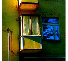 "City Life - ""Balconies, Windows, Shutters"" p.3 Photographic Print"