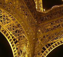 La Tour Eiffel IV by Linda Hardt