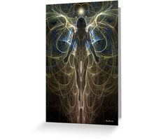 Angel Aura Greeting Card