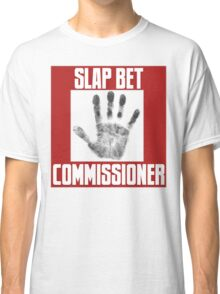 Slap Bet Commissioner Classic T-Shirt