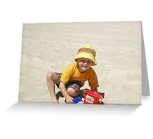 dale at the beach Greeting Card