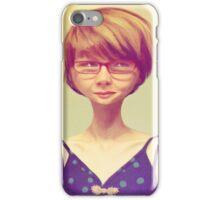 Enigmatic Smile iPhone Case/Skin