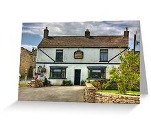 The Pheasant Inn - Harmby Greeting Card
