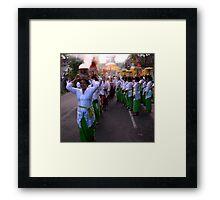 Procession, Ubud, Bali Framed Print
