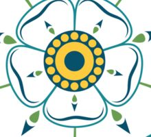 Yorkshire White Rose 1977 Sticker