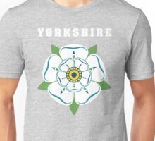 Yorkshire White Rose Unisex T-Shirt
