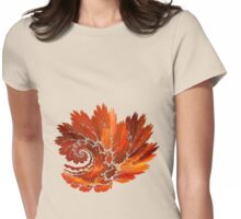 Flame Of Passion Womens Fitted T-Shirt