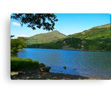 Lake-North Wales Canvas Print