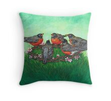 Crown of Spring Throw Pillow