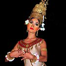 Cambodian Dancer by Adri  Padmos