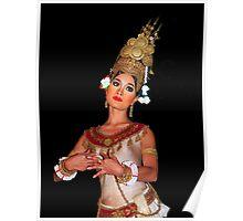 Cambodian Dancer Poster
