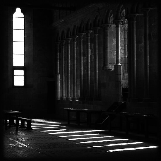 Mont Saint Michel - Interior by JoHammond