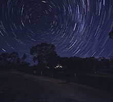 Star trail trial... by Rikki  Pool