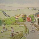 Village Cricket 2 by Martin Williamson (©cobbybrook)