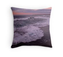 Sunrise at the Bogey Hole Throw Pillow