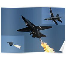 F-111 Montage 2 Poster