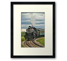 Old Steam Train 2024 Framed Print