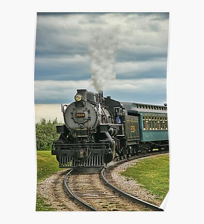 Old Steam Train 2024 Poster