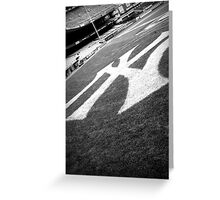 New York Yankees Greeting Card