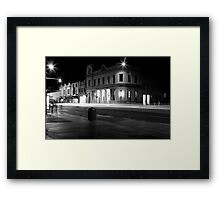 Night Trails Framed Print