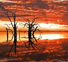 Lake Bonney Sunset 6 by Seesee