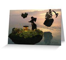 Nippon's Messenger Of Light - Flylands No2 Greeting Card