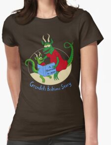 Grendel's Bedtime Story Womens Fitted T-Shirt