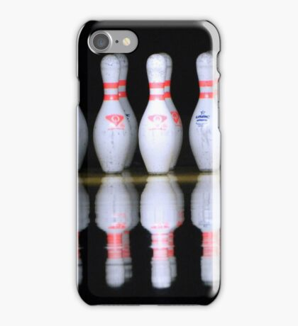 Bowling Pins iPhone Case/Skin
