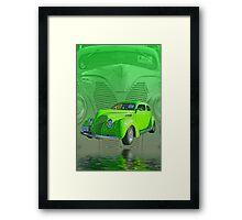 The Green Street Rod Framed Print
