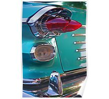 Double Bullet Tail Lights Poster