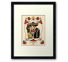 Mexican Couple Framed Print