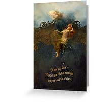 Star Sisters Greeting Card