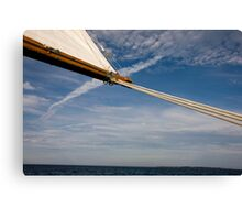 Coming About Canvas Print