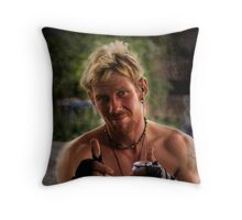 Street Portrait 6 Throw Pillow