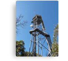 Fire Location Tower! Mt. Lofty, Adelaide Hills.  Canvas Print