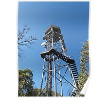 Fire Location Tower! Mt. Lofty, Adelaide Hills.  Poster