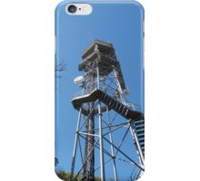 Fire Location Tower! Mt. Lofty, Adelaide Hills.  iPhone Case/Skin
