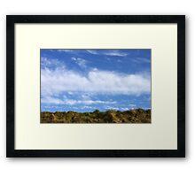 Above, the sky Framed Print