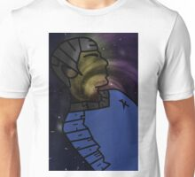 LLaP Spock with galaxy Unisex T-Shirt