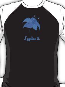 Legalize Poison Joke (text, black background)  T-Shirt