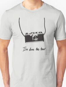 I've done the tour - camera T-Shirt
