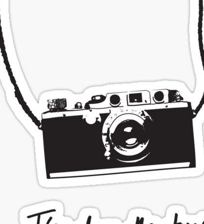 I've done the tour - camera Sticker
