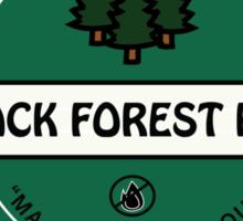 Black Forest Beer logo Sticker