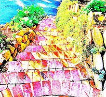 Stairs Toro Canyon by Lexi