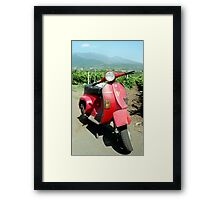 That'll Be Sicily Then Framed Print