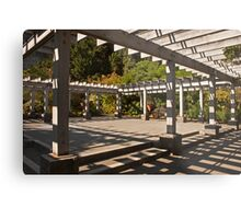 Arbor at Arboretum Metal Print