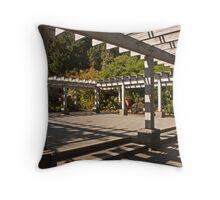 Arbor at Arboretum Throw Pillow