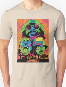 FLATBUSH ZOMBIES RASTA CEMETRY HEAD T-Shirt