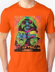 FLATBUSH ZOMBIES RASTA CEMETRY HEAD T-Shirt
